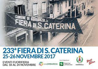 Fiera di S.Caterina 25-26 novembre Gorgonzola (MI)