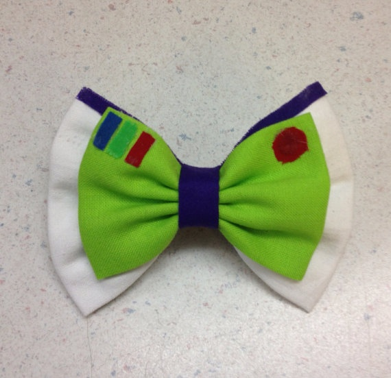 Buzz Lightyear Toy Story Inspired Disney Fabric by ClassyElleBows, $9.00