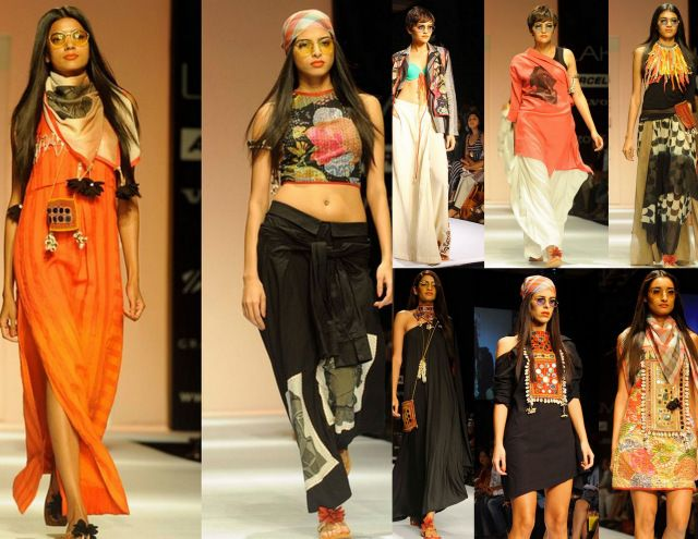 Asmita Marwa 'Moon Magic' at Lakme Fashion Week. #asmitamarwa #moonmagic #lfw
