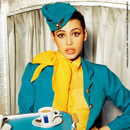 Hostess. Lavazza, Newhiregame