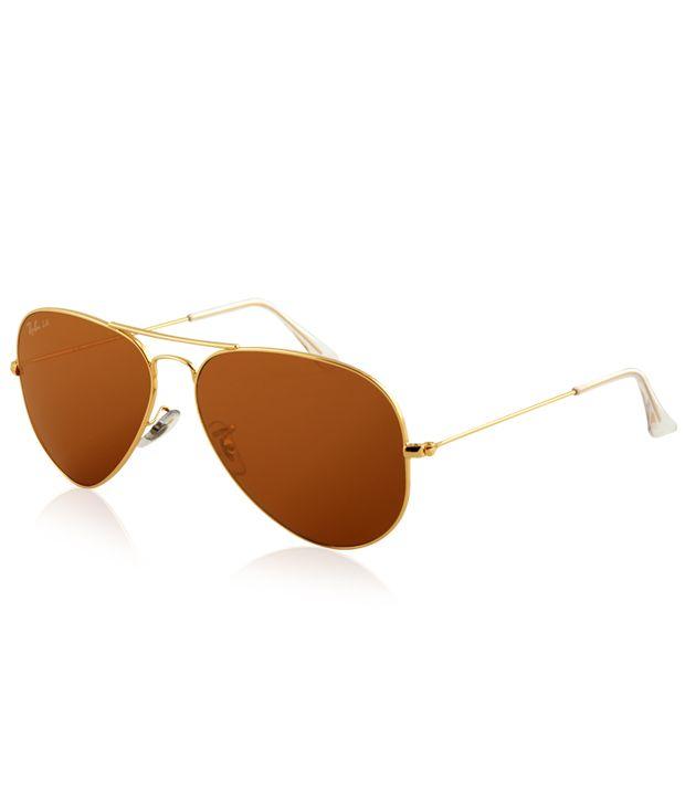 Ray-Ban RB3025 001/4I Medium Size 58 Aviator Sunglasses
