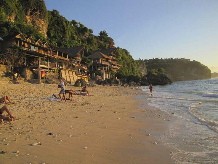 Climb more than 600 steps to Bingin Beach