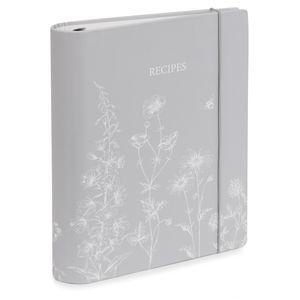 Lisette Steel Floral Recipe File