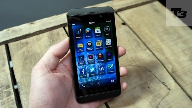 Guess who has had some hands-on time with the new BlackBerry Z10?