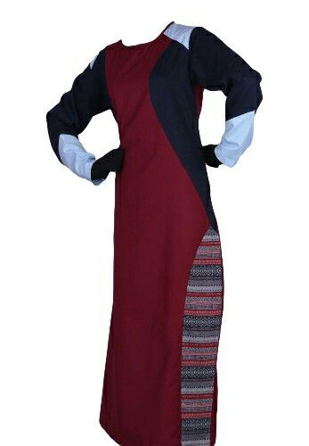 EID ul Adha Women's Sports Abaya Collection #6 Design Nº: 0353 Available Size: 54 to 60, R, L & XL Available Color's: Maroon, (Combination of 4 Color's) Fabric: T.R. Twill Price From: 650.00 ZAR More info @ http://kufnees.co.za