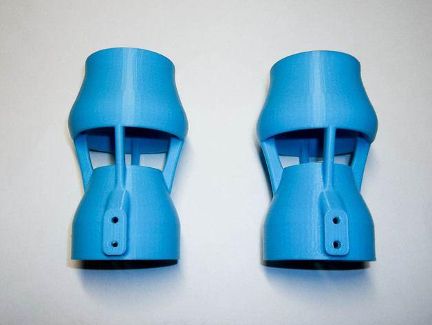 ROV Kort Nozzle for Bilge Pump Thruster w/Integrated Mount