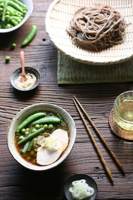 Tsuke-soba with Beans by bananagranola (busy)