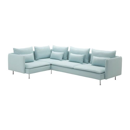 SOFA BACK UP OPTION   SÖDERHAMN Corner sofa IKEA The various sections of the seating series can be connected together in different combinations or used separately. - $978