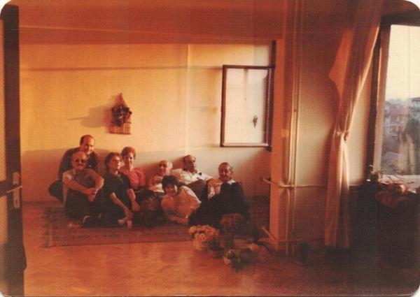 Cemal Uzunoğlu, Tomris Uyar, Tevfik Akdağ, Cemal Süreya, Ece Ayhan, Nilgün Marmara, İlhan Berk (1984) #Kızıltoprak #istanlook