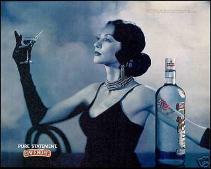 Smirnoff Vodka Martini Sophisticated Lady (1994)