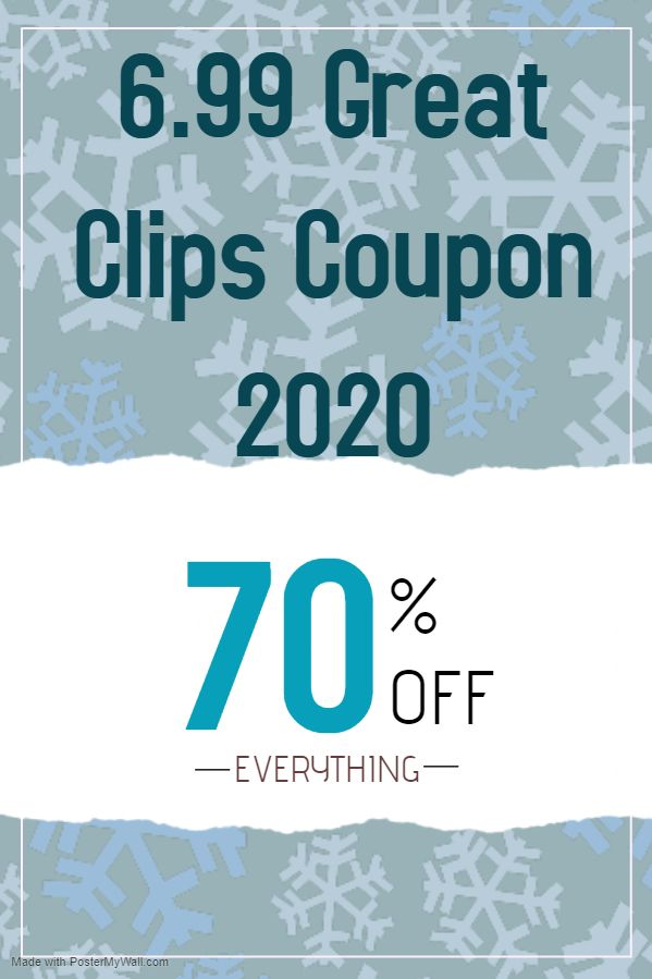 Check Out New 6 99 Great Clips Coupon 6 99 Great Clips Coupon 2020 Great Clips Promo Code Great Clips P Great Clips Coupons Haircut Coupons Best Coupon Apps
