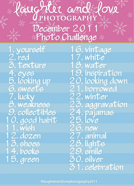 December laughter and love photo challenge