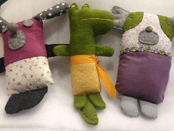Handmade dolls for baby. Bambole / pupazzi fatte a mano per bimbi.