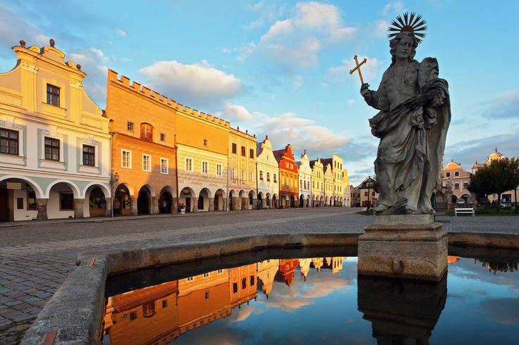 Telč - renaissance peorl of Czechia