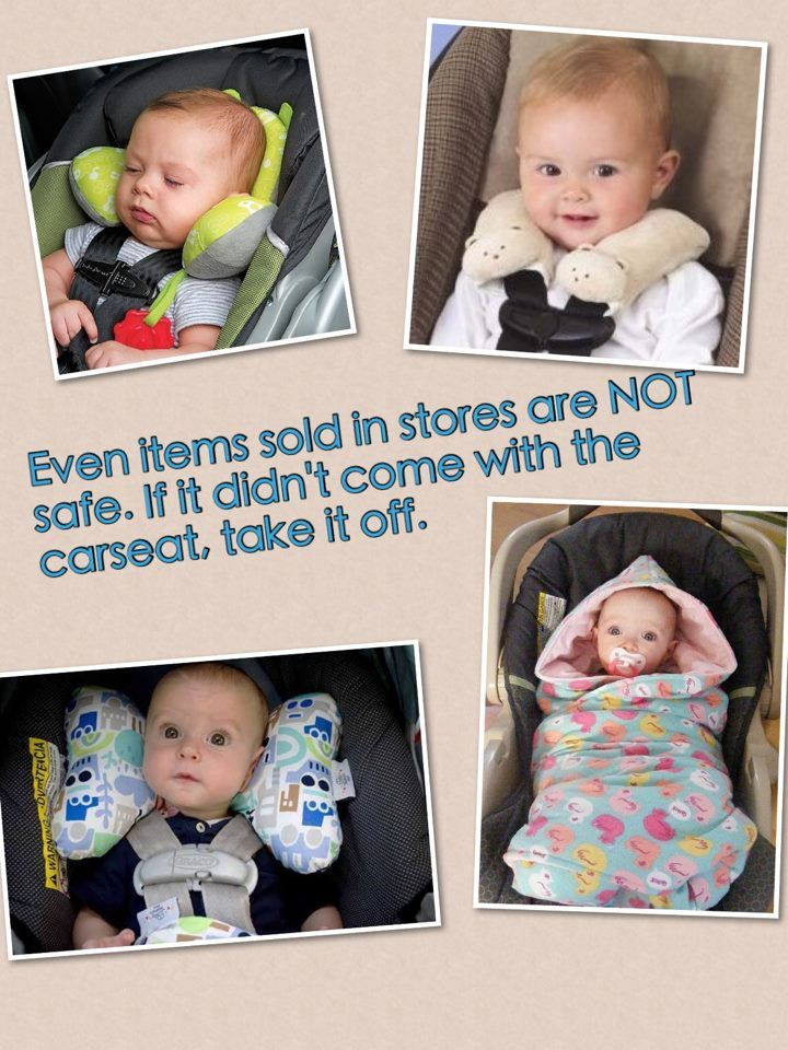 DONT USE After Market Car Seat Products!!! *the ones in the pictures are NOT safe!** along with many other after-market products not pictured here.