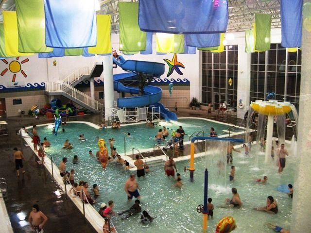 The grove cove aquatic center mgcc waterpark pinterest pools swimming and cove for Public indoor swimming pools minneapolis