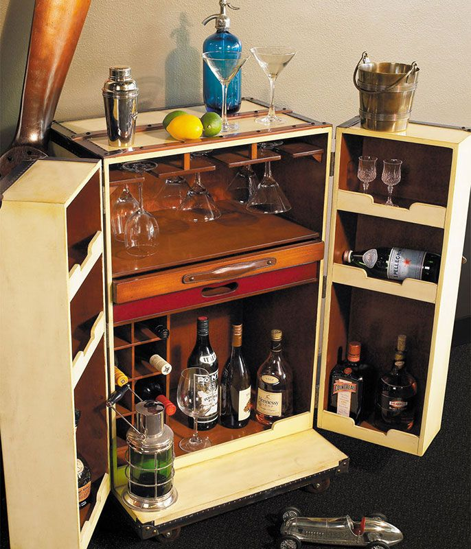 bar trunk furniture. orient express trunk bar furniture and fun accessories for home