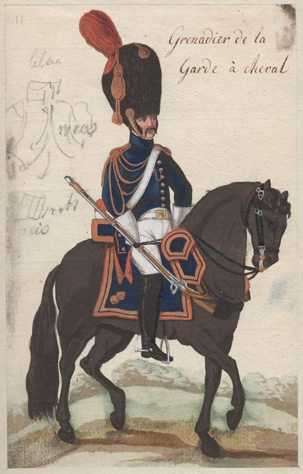 France - Grenadier a Cheval of Guard in small dress