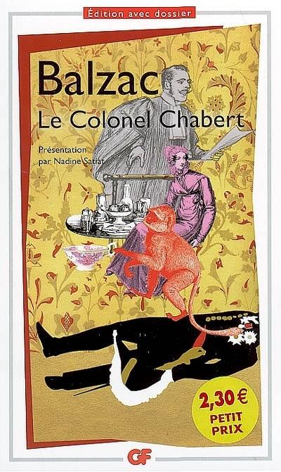 Le colonel Chabert. Honoré de Balzac