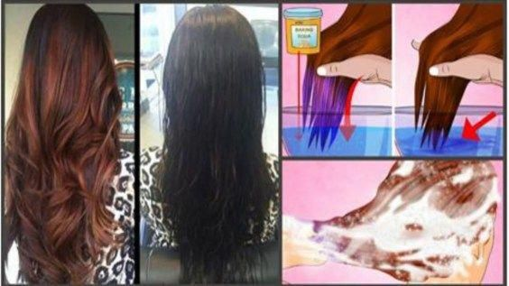 Ein einfacher Weg, um Ihre Haare mit natürlichen hausgemachten Produkten zu färben. #cabell …