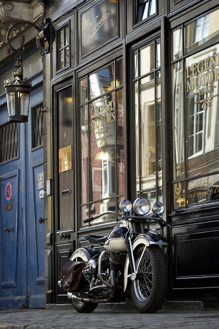 Harley davidson wl 1943 vendre chez legend motors lille