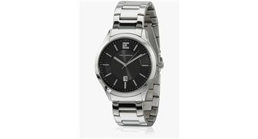 #Ted #Lapidus #5116203 #Silver/#Black #Analog #Watch with 50% #Discount through #Jabong