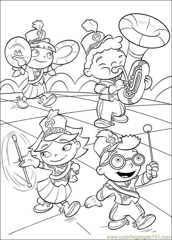 Little Einsteins Coloring Page Little Einsteins Music Coloring Coloring Pages