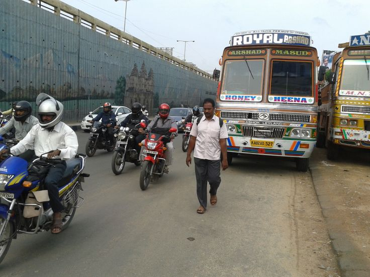 """#Bangalore #KRPuram """"Road between Tin factory towards K.R.Puram railway station is full of traffic and congested. In morning time, many trucks are parked on the road causing traffic jam. Buses have to change the lane in already congested road which causes more traffic jam. Please mark the road as no parking zone and punish the offenders to ease the traffic problem there."""" - Uday Trivedi. Click on the link to VOTE UP Uday's complaint to get the issue resolved faster: http://bit.ly/1k5GbOn"""