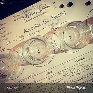 """This makes my heart happy...lots if note-taking at my @lanewaylearning #AussieGins tasting last night. #gin #ginstagram #lanewaylearning #melbourne #SupportAustralianCraftDistillers By @fefe0770 """"Intoxicating knowledge. #theginqueen #dirtymartiniordie"""" via @PhotoRepost_app"""