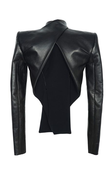 Vertigo Leather Jacket by Dion Lee - Moda Operandi