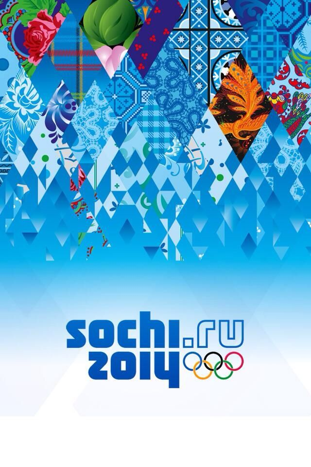 Sochi 2014.  I love these colors.