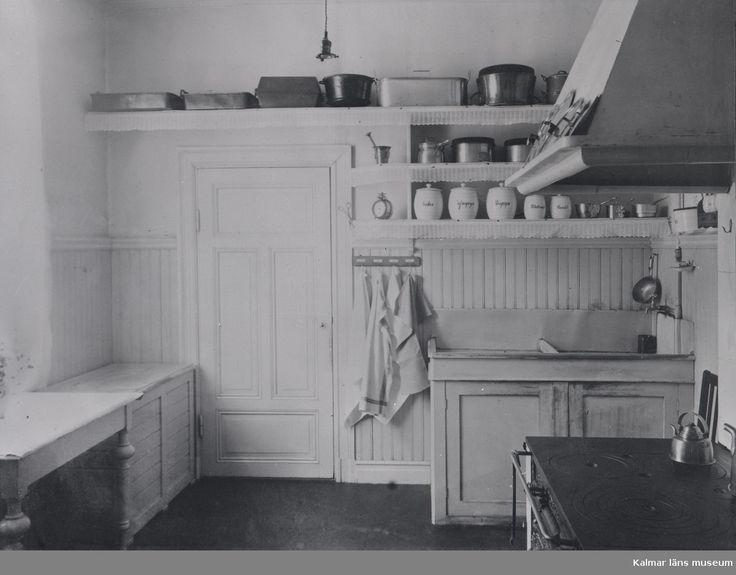Kök, eventuellt på Krusenstiernska gården.