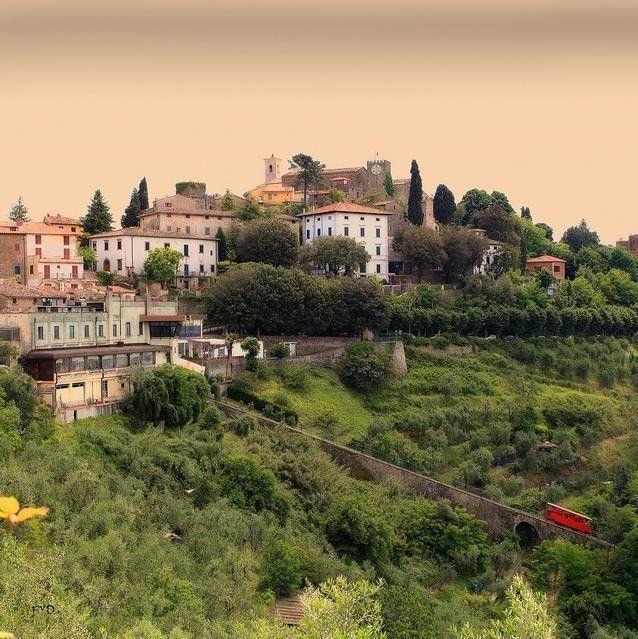 Toscane, Montecatini Alto