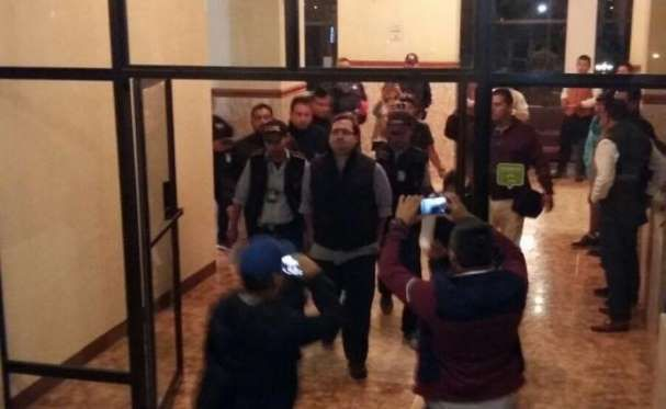 Javier Duarte, detenido en Guatemala - Twitter PGR