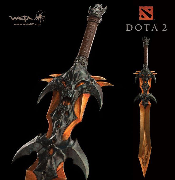 Dota 2 - Demon Edge Sword