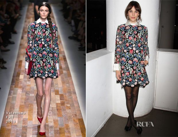 Alexa Chung In Valentino - 'It By Alexa Chung' Book Launch