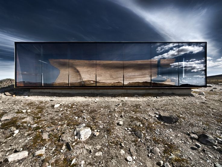 Wild Reindeer Centre Pavilion, Dovrefjell National Park, Norway: Snohetta Architects