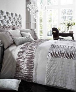 Alina Silver Bedding Set Linen And Bedding In Uk In 2018