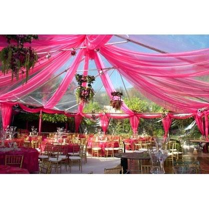 My outside wedding reception