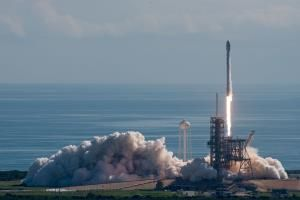 SpaceX launches Korean satellite sticks rocket landing