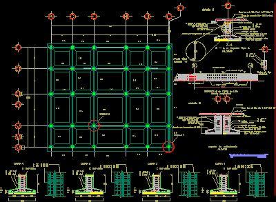 plano estructural con zapata corrida - Buscar con Google