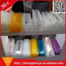 Électrique pc volet roulant/cristal porte de roulement/polycarbonate transparent roll up porte feuille en gros