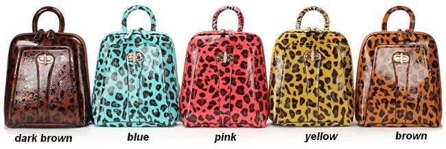 korea pu leather backpack