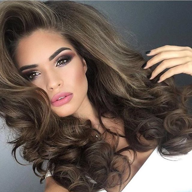 unique big curl perm ideas