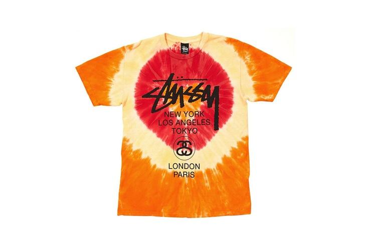 Stussy Tie-Dye World Tour T-Shirt Series