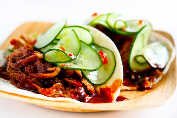 Korean Style Tacos-   tried the Vietnamese Style Tacos at Cheesecake Factory and loved them. Similar recipe