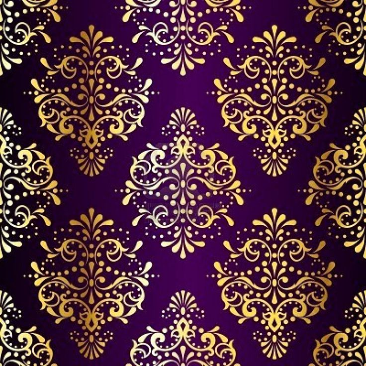 metallic damask pattern inspired by Indian fabrics