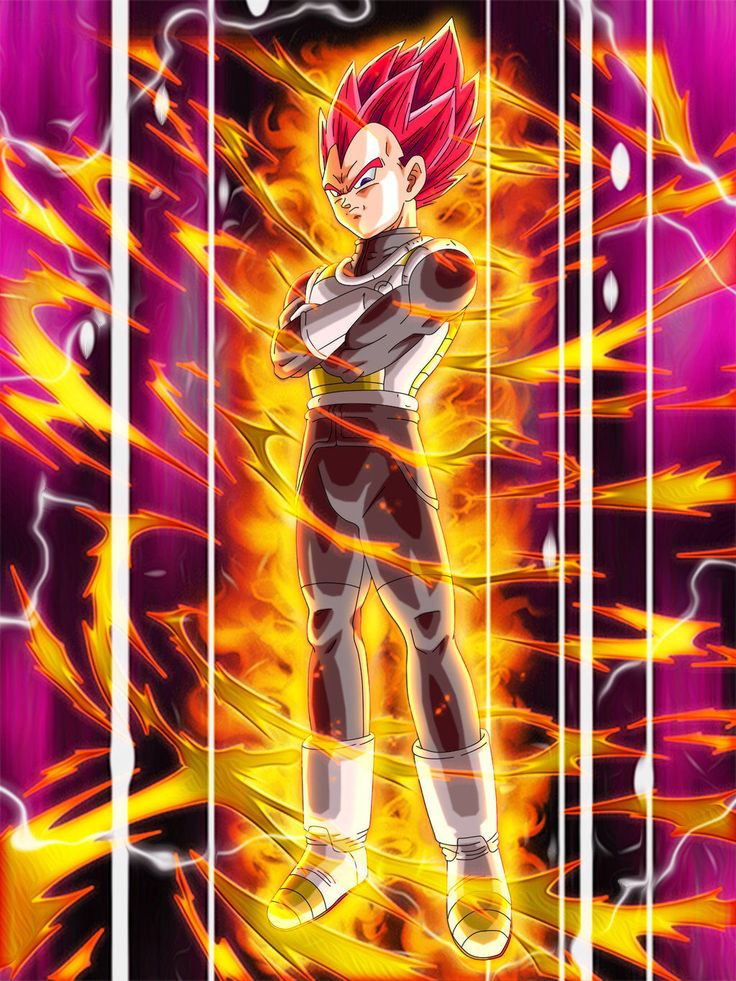 Super Saiyan God Vegeta by Nassif9000 on @DeviantArt