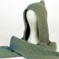 Maglia: La sciarpa con cappuccio in cachemere di Gomitoli's