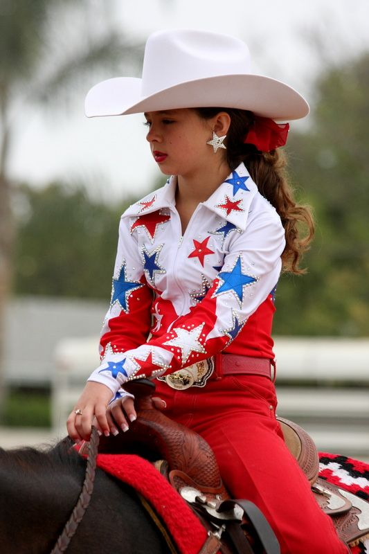 custom_western_horse_show_clothes - gypsy girl western show wear